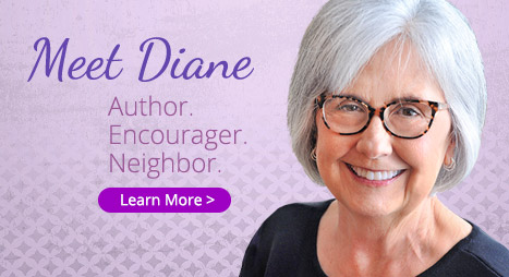 Meet Diane: Author. Editor. Encourager.
