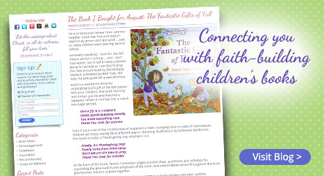 Connecting you with faith-building children's books