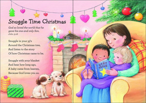 christmas story to toddlers and preschoolers with this one short sweet rhyming verses and cute artwork tell the story and explain that christmas - Christmas Story For Toddlers